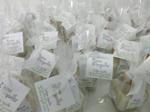 El jabón de patxaran y aceite de oliva virgen extra es uno de los productos estrellla de Reina Margarita.